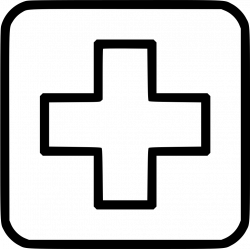 Medicine Cross Hospital Clinic Healthcare Svg Png Icon Free Download ...