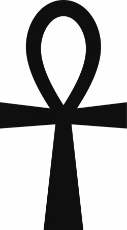 The Ankh is an ancient Egyptian (African) symbol, which represents ...