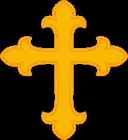 Gold Cross Clip Art at Clker.com - vector clip art online, royalty ...