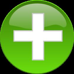 Medical Cross Button Clip Art at Clker.com - vector clip art online ...