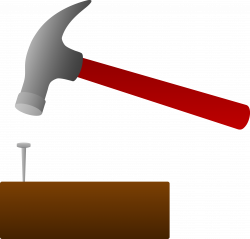 Nail And Hammer Clipart