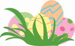 28+ Collection of Pastel Easter Eggs Clipart | High quality, free ...