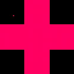 Pink Red Cross Clip Art at Clker.com - vector clip art online ...