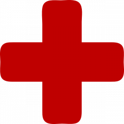 Red Medical Cross Clip Art at Clker.com - vector clip art online ...