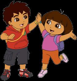 Dora the Explorer Clip Art | Cartoon Clip Art