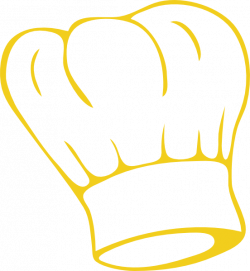 Chef Hat Gold Clip Art at Clker.com - vector clip art online ...