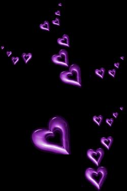 Purple Decorative Hearts Ornaments PNG Clipart | I ❤ Hearts ...
