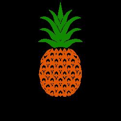 Free Pineapple Stencil Art SVG and Vector Files | Pinterest | Cricut ...