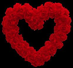 Transparent Rose Heart PNG Clipart Picture | Hearts ♥ L♥ve | Pinterest