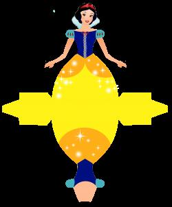 Caixa Vestido das Princesas da Disney! | Pinterest | Snow white ...