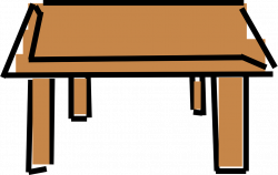 Cliparts Coffee Table - Shop of Clipart Library
