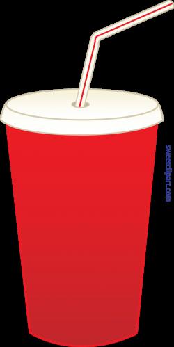 Soda Pop In Cup Clip Art - Sweet Clip Art