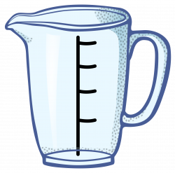 Clipart - measuring cup - coloured