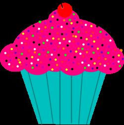 Pink Frosted Cupcake Clip Art at Clker.com - vector clip art online ...