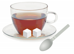 File:Glass cup with saucer spoon and sugar cubes.svg - Wikimedia Commons