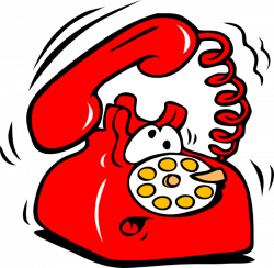 Telephone Ringing Clipart. Learning to Communicate - ppt video ...