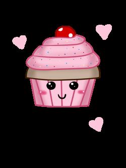 Cute Cupcake Drawing at GetDrawings.com | Free for personal use Cute ...