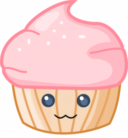 28+ Collection of Cute Cupcake Clipart With Faces | High quality ...