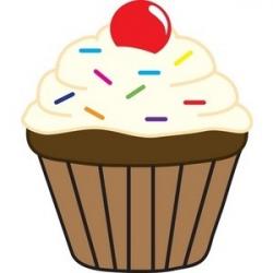 Cupcake Slice Clipart