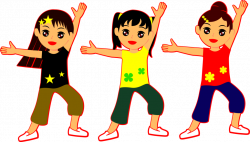 Kids Dancing Clipart at GetDrawings.com | Free for personal use Kids ...