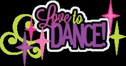 Love To Dance SVG scrapbook title dance svg files dance cut files ...