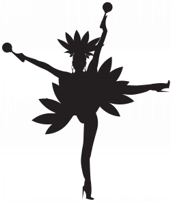 Dancers Silhouette Clip Art at GetDrawings.com | Free for personal ...