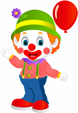 Cute Clown Transparent PNG Clip Art Image | edson | Pinterest | Art ...