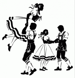 Traditional German Dances 010311» Vector Clip Art | Bringing ...