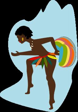 Clipart - african dancer