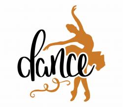 Danza, Bailarina, Svg, Ballet, Niña - Dance Clipart With ...