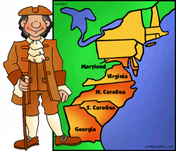 Southern Colonies - The 13 Colonies for Kids