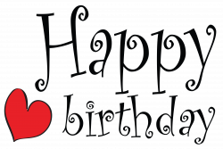 Cute Happy Birthday Clipart Picture | Gallery Yopriceville - High ...