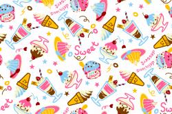 Dessert Backgrounds Clipart