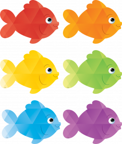 Colorful Fish Accents | Pinterest | Colorful fish, Bulletin board ...