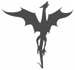Clipart library: More Like Vector Dragon Silhouette by Watyrfall ...
