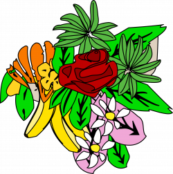 Clipart - Food and flower design 2