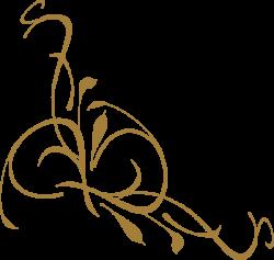 Gold Floral Design Clip Art at Clker.com - vector clip art online ...