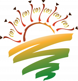 Clipart - Sunset Graphic