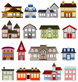 Clipart - Simple Houses