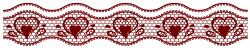 Transparent Lace with Hearts Decoration PNG Picture | Gallery ...