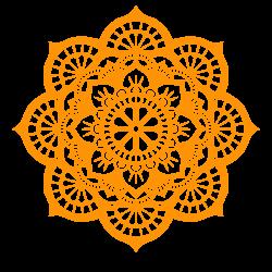 Lotus Mandala Vector Art and Cut Out Pattern Files | Pinterest | Svg ...