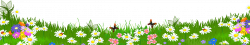 Grass Ground with Flowers PNG Clipart   Crafts, sewing, and DIY ...