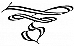 Wedding Squiggles Clipart