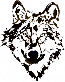 Wolf Clip Art And Graphics For T Shirt Decal Logo Design on ...