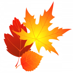 Transparent Fall Leaves Clipart | Banco de ideas para elaborar ...