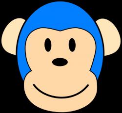 Blue Monkey Designs Clip Art at Clker.com - vector clip art online ...