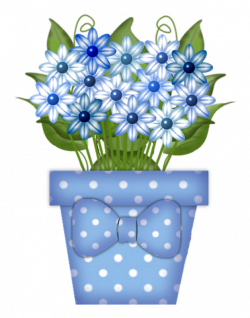 flowers in pot 4.png | Gardens, Flowers and Clip art