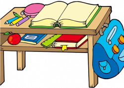 Desk Clipart School Bench - Png Download - Full Size Clipart ...