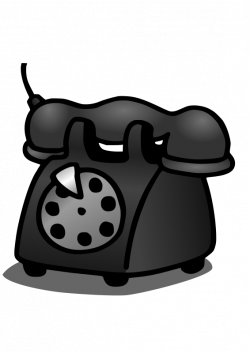 Telephone   Free Stock Photo   Illustration of a telephone   # 14353