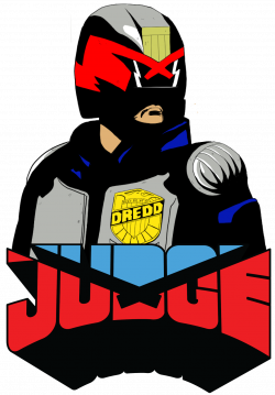 thetimbrown: Dredd stickers!